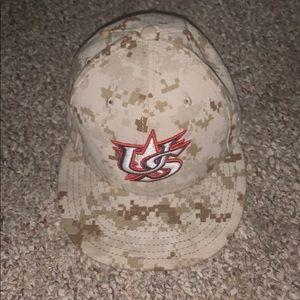 New Era USA baseball fitted cap